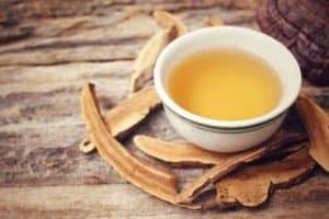 Reishi Tee in Tasse